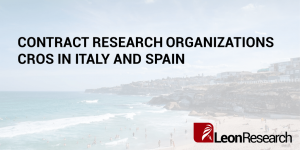 Contract Research Organizations CROs in Italy and Spain